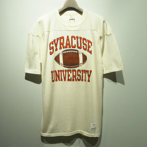 80s Champion/SYRACUSE UNIVERSITY/football shirt/Made in USA/size L