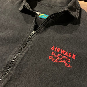 AIR WALK/90s/Tyrolean zip jacket/made in usa/size L/