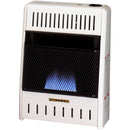 ProCom Dual Fuel Ventless Blue Flame Heater - 10,000 BTU, T-Stat Control - Model