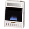 ProCom Reconditioned Natural Gas Ventless Blue Flame Heater - 10,000 BTU, Manual Control - Model