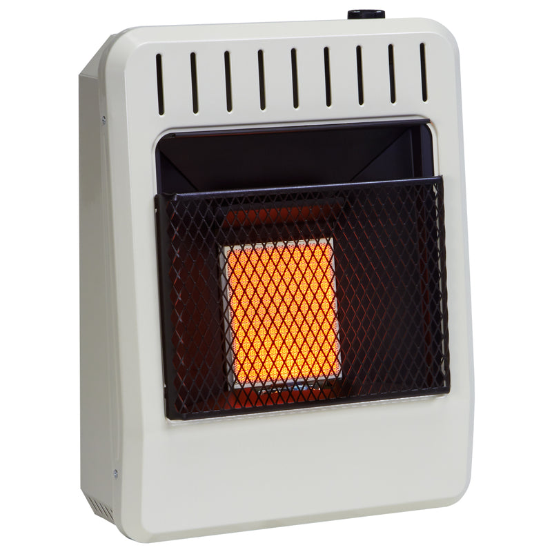 Avenger Dual Fuel Ventless Infrared Gas Space Heater 10,000 BTU, Model