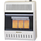 ProCom Reconditioned Natural Gas Ventless Plaque Heater - 18,000 BTU, T-Stat Control - Model