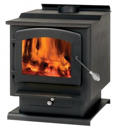 Summers Heat 1,800 - 2,400 Sq. Ft. Wood Stove - Model