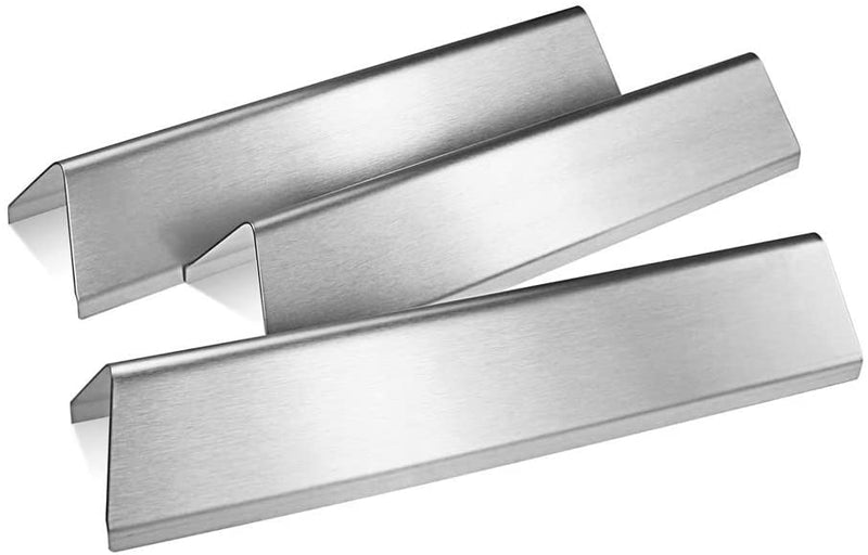 "Avenger 7635 15.3 "" Universal Stainless Steel Flavorizer Bars Replacement for Weber Spirit E-210 Spirit 200 Series Genesis Genesis Silver A Spirit 500 7534 65902- Set of 5"