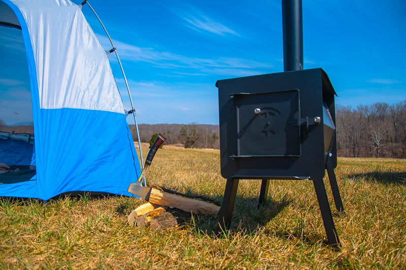 Black Bear Portable Camping Wood Stove by England's Stove Works - Model