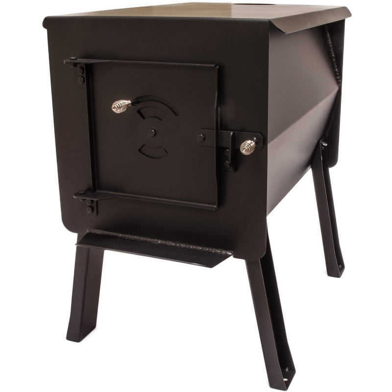 Grizzly Portable Camping Wood Stove by England's Stove Works - Model
