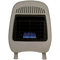 ProCom Reconditioned Dual Fuel Ventless Blue Flame Heater - 10,000 BTU, T-Stat Control - Model