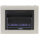 Cedar Ridge Hearth Dual Fuel Ventless Blue Flame Gas Space Heater With Blower - 20,000 BTU, T-Stat Control - Model