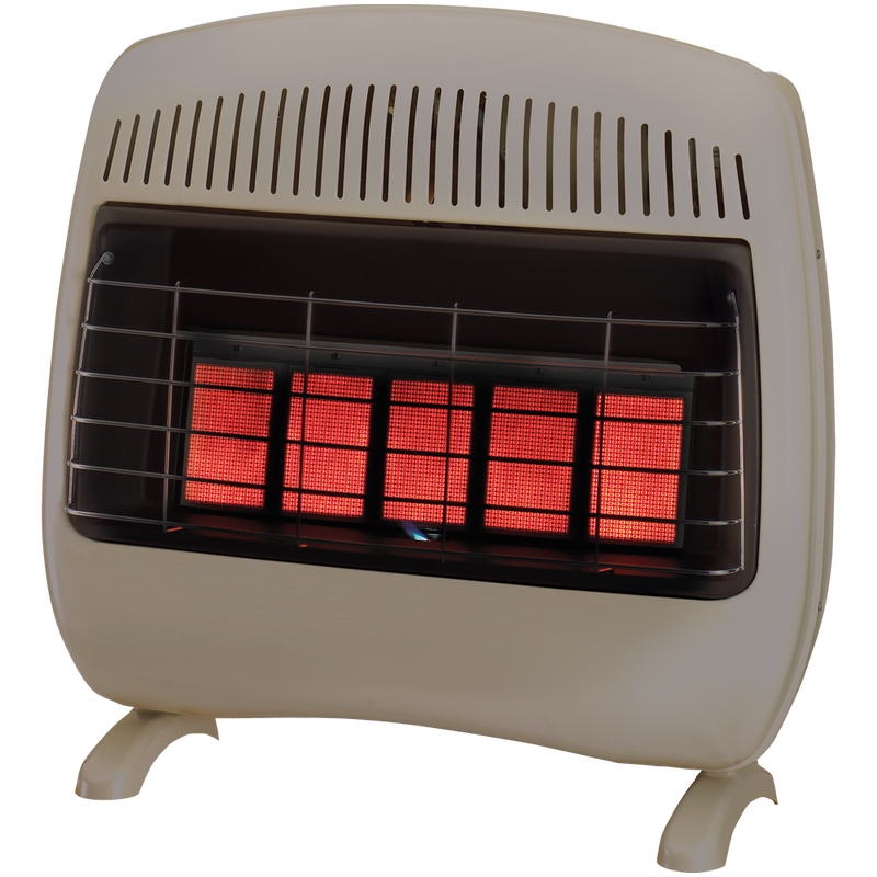 ProCom Reconditioned Dual Fuel Ventless Infrared Heater - 30,000 BTU, T-Stat Control - Model