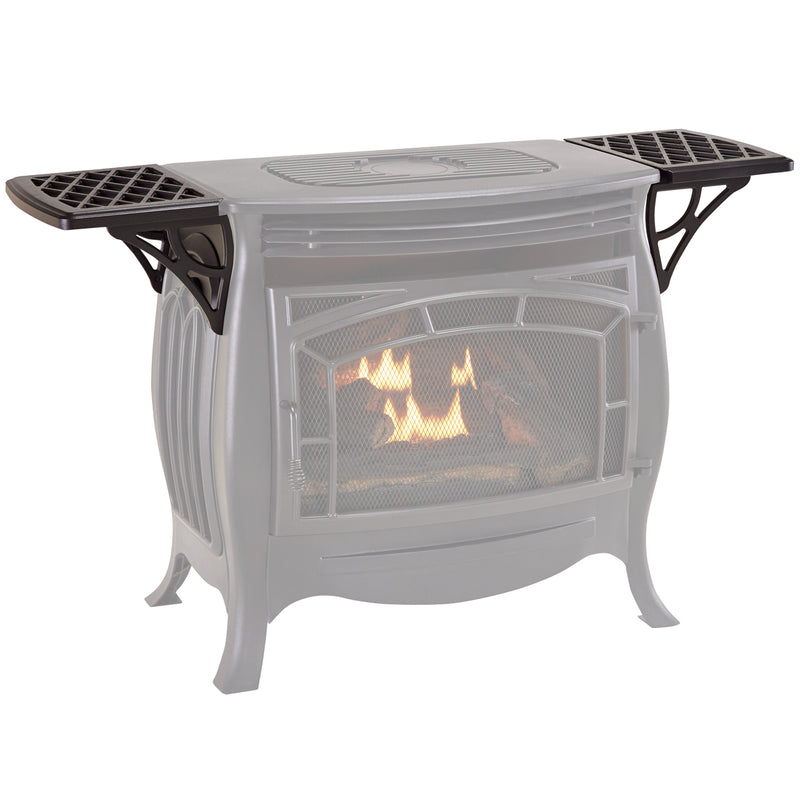 Duluth Forge Shelves for Ventless Gas Stove - Model