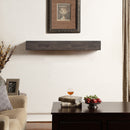 Duluth Forge 48in. Fireplace Shelf Mantel With Corbel Option Included - Antique Grey Finish - Model
