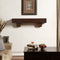 Duluth Forge 48in. Fireplace Shelf Mantel With Corbel Option Included - Chocolate Finish - Model# DFSM48-CH