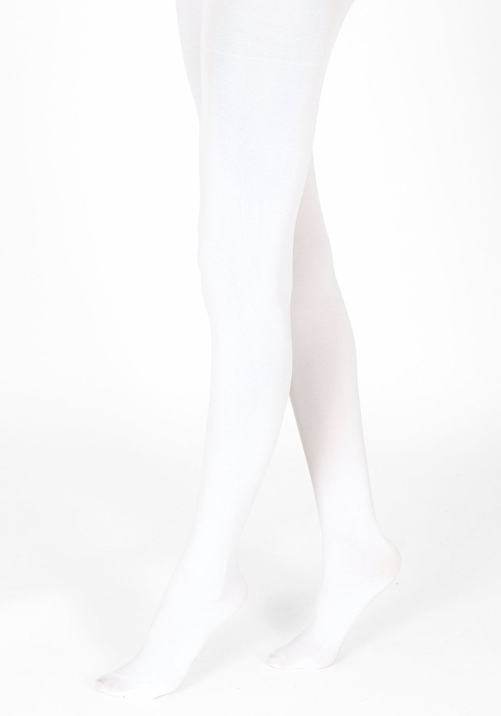 white tights 100 denier 1