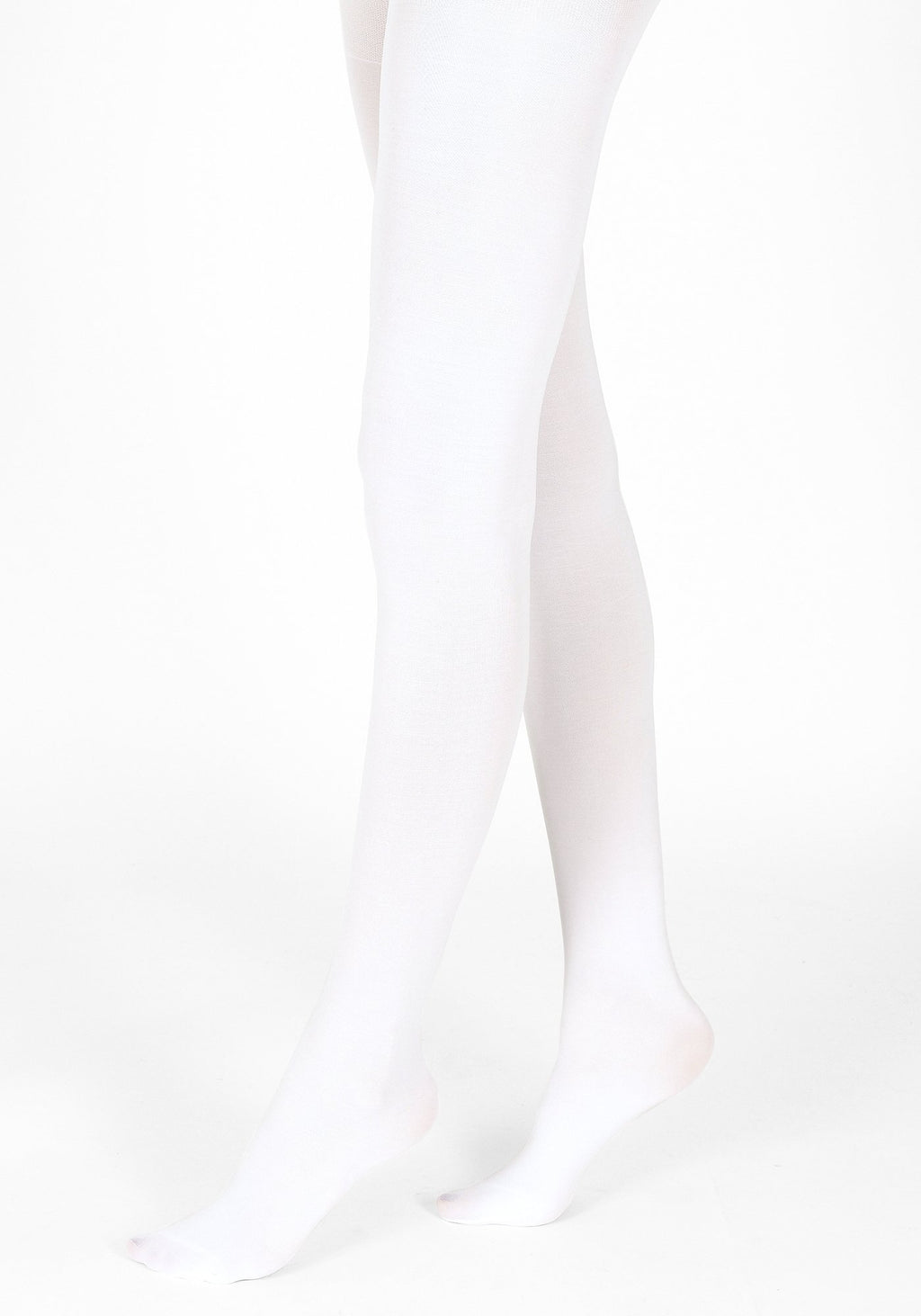 white tights 60 denier 1
