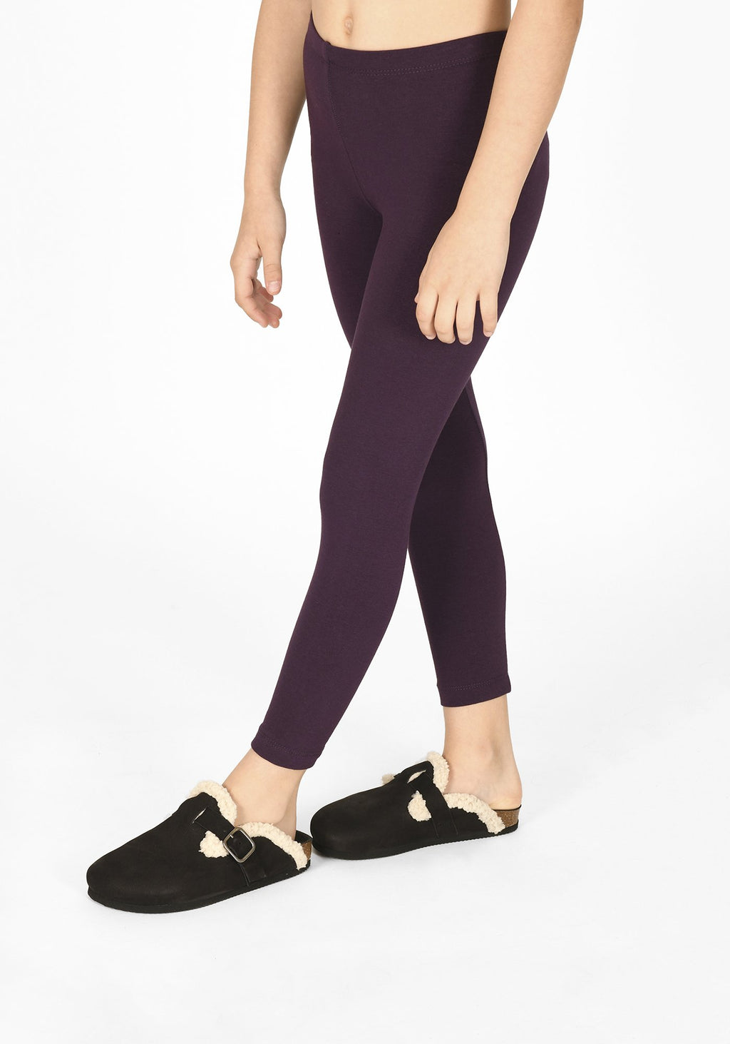 acai purple full length childrens leggings 1