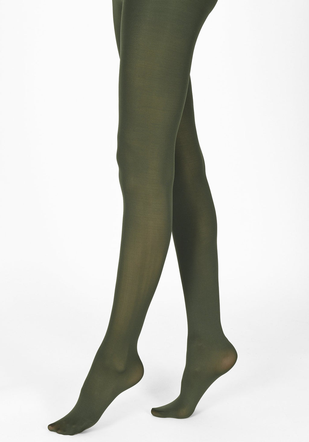 bottle green tights 60 denier 1