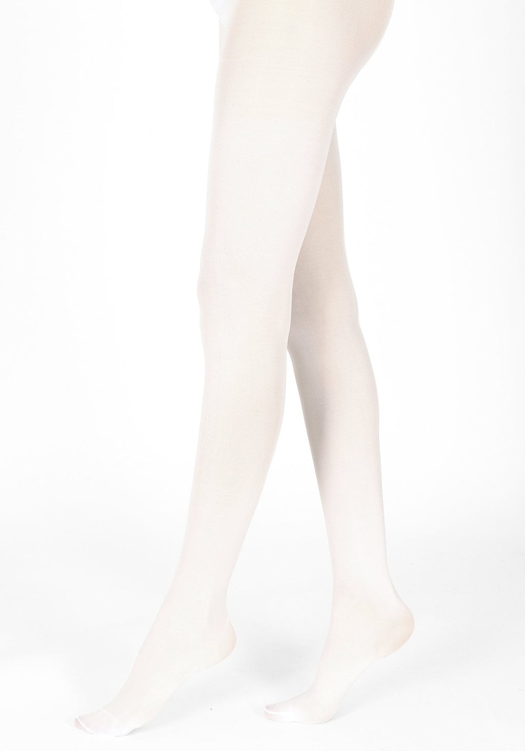 white tights 40 denier 1