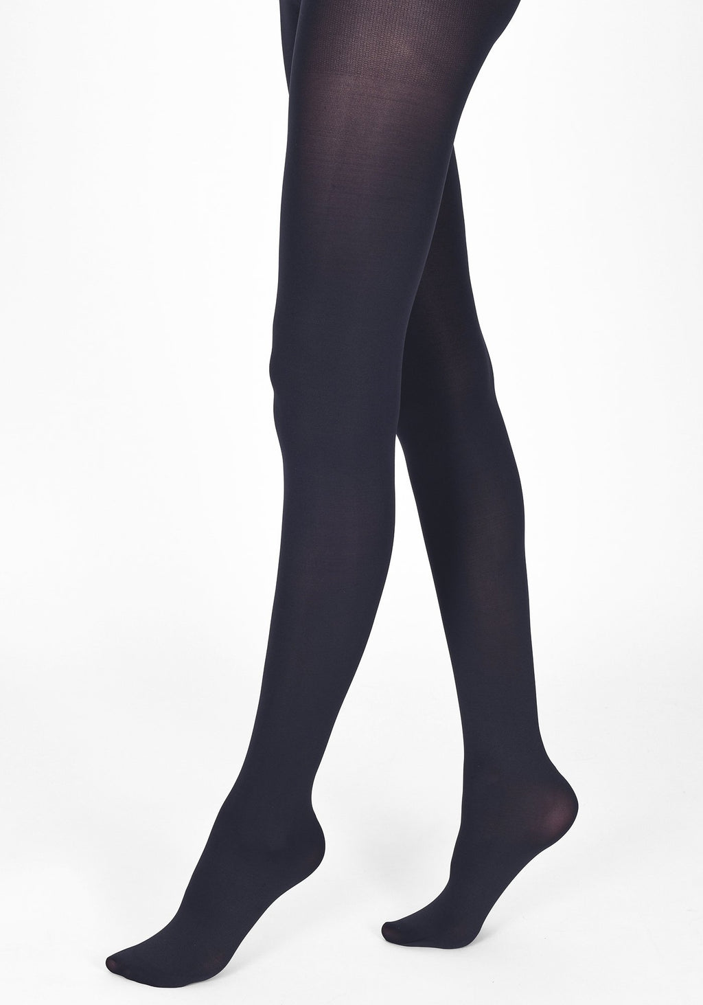 navy blue tights 100 denier 1