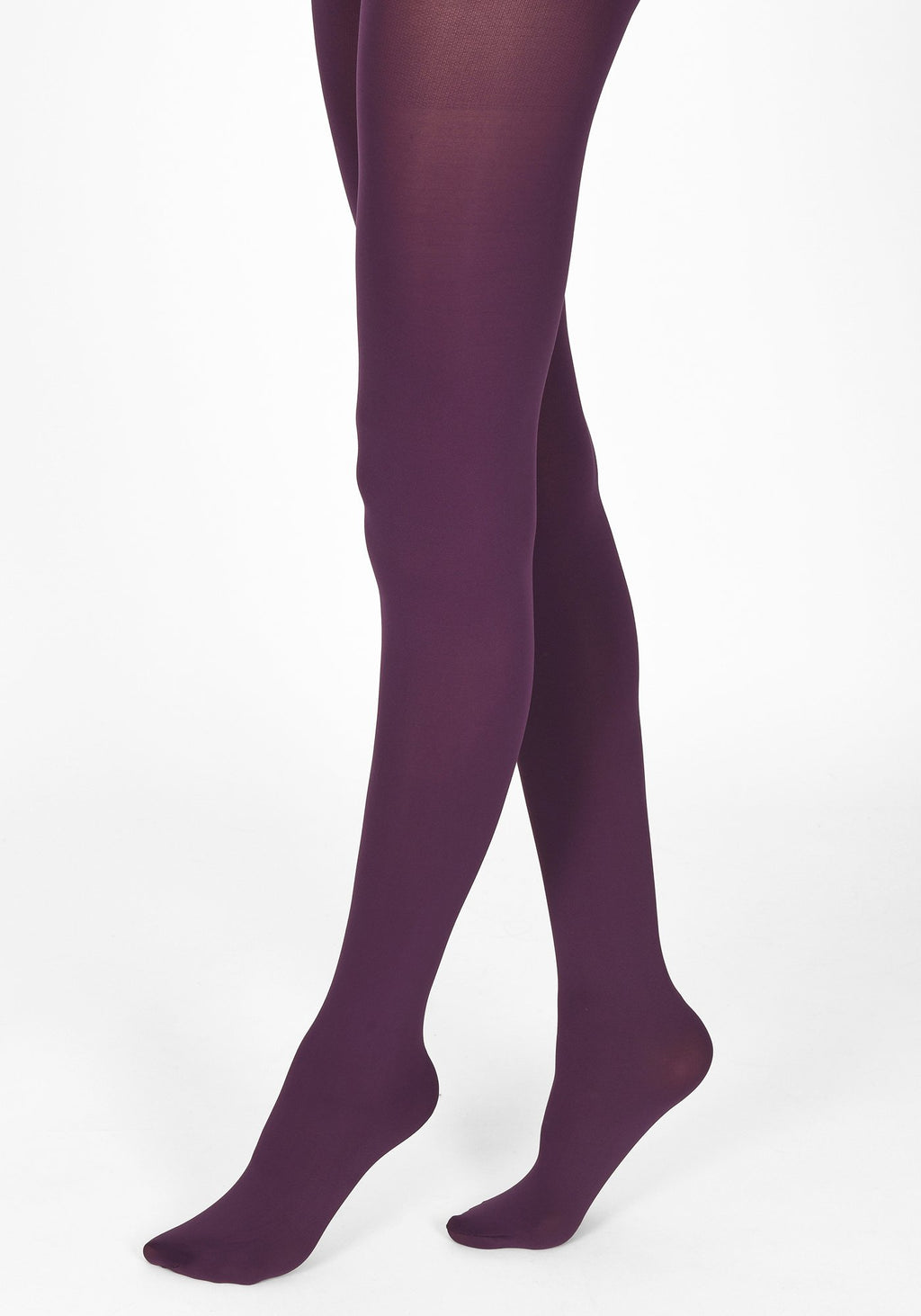acai purple tights 100 denier 1