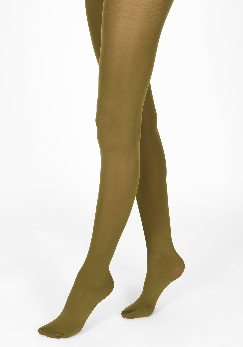 olive green tights 60 denier 1