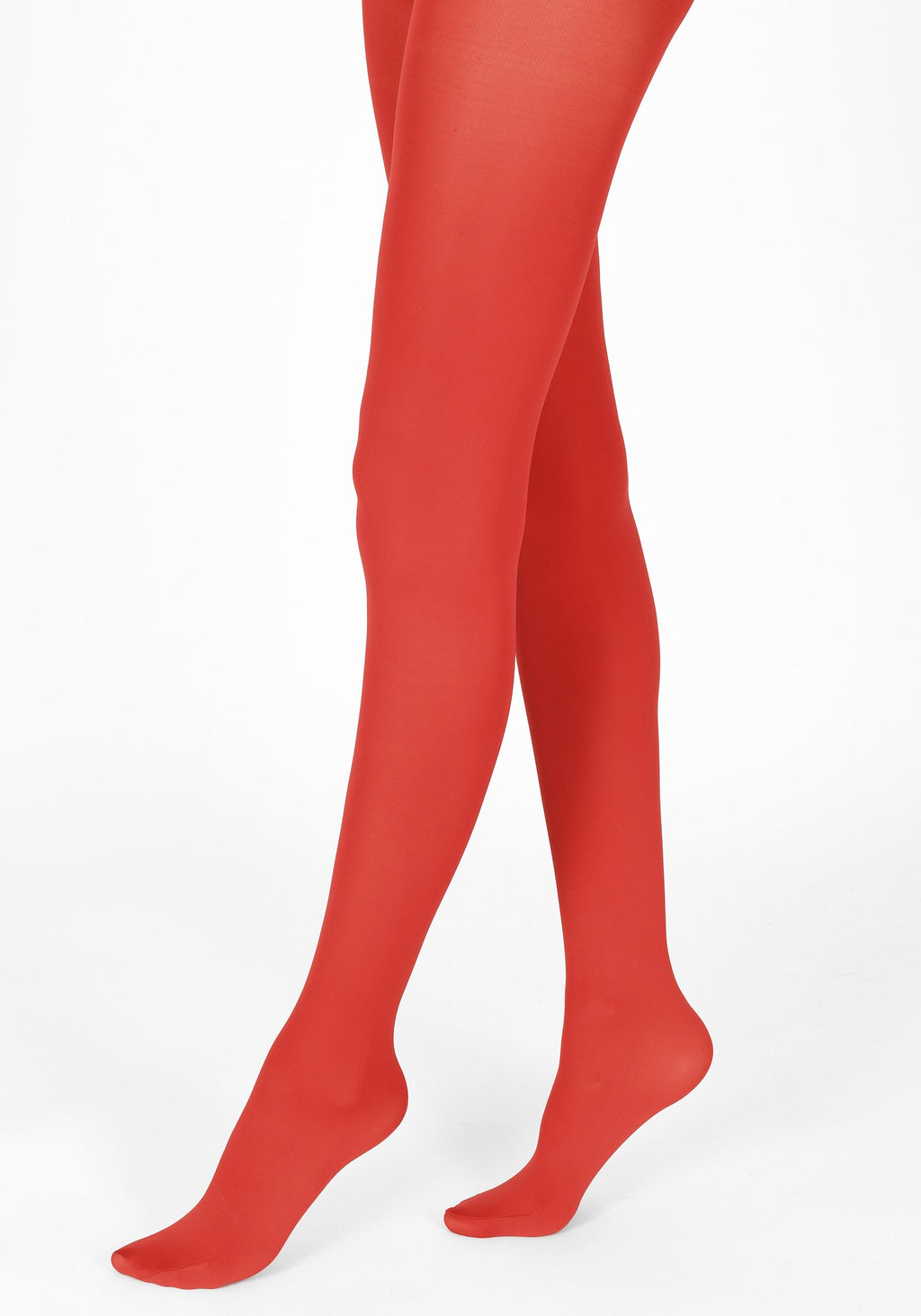 poppy red tights 60 denier 1
