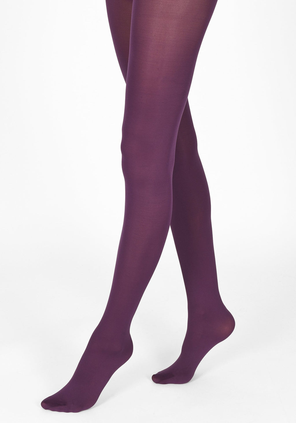 acai purple tights 60 denier 1