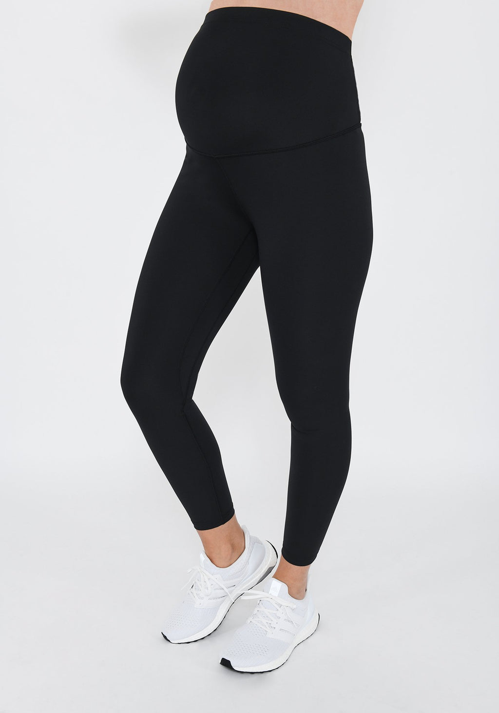 Focus Midnight Black 7/8 Maternity Sports Leggings