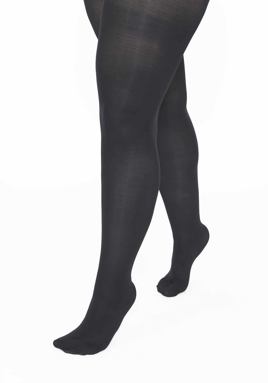 Plus Size Black 40 Denier Tights