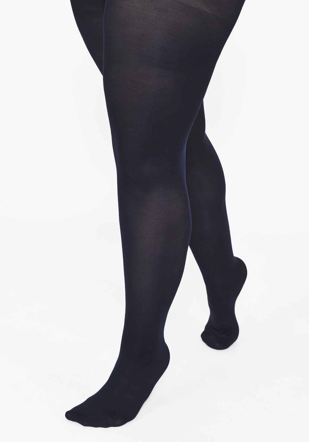 Plus Size Deep Navy 60 Denier Tights