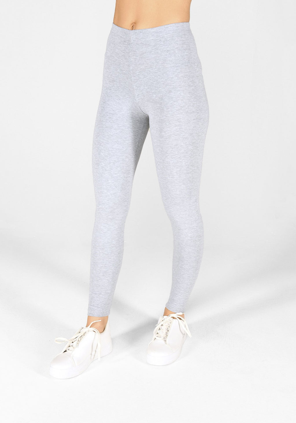 light grey marl classic leggings 1
