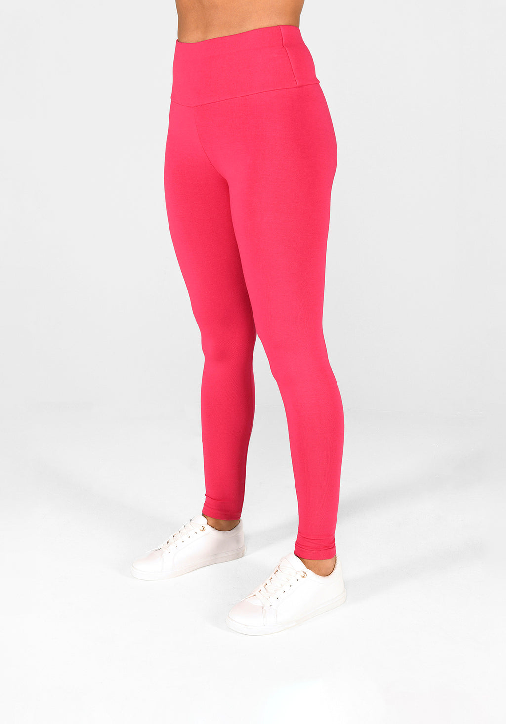 Intense Pink High Waisted Leggings