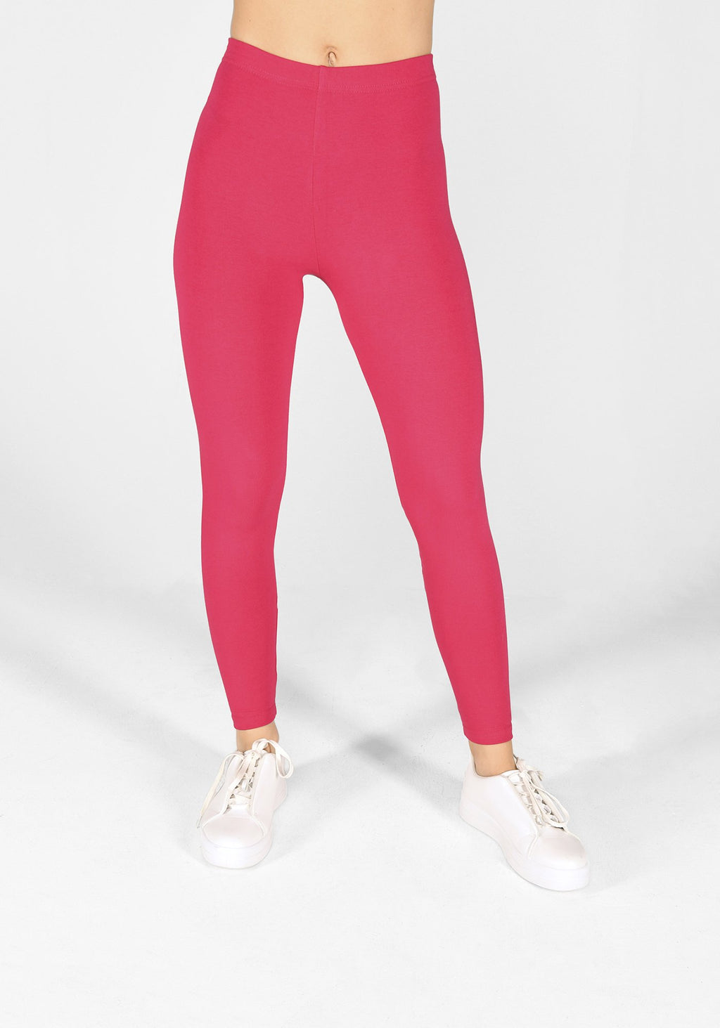 intense pink classic leggings 1