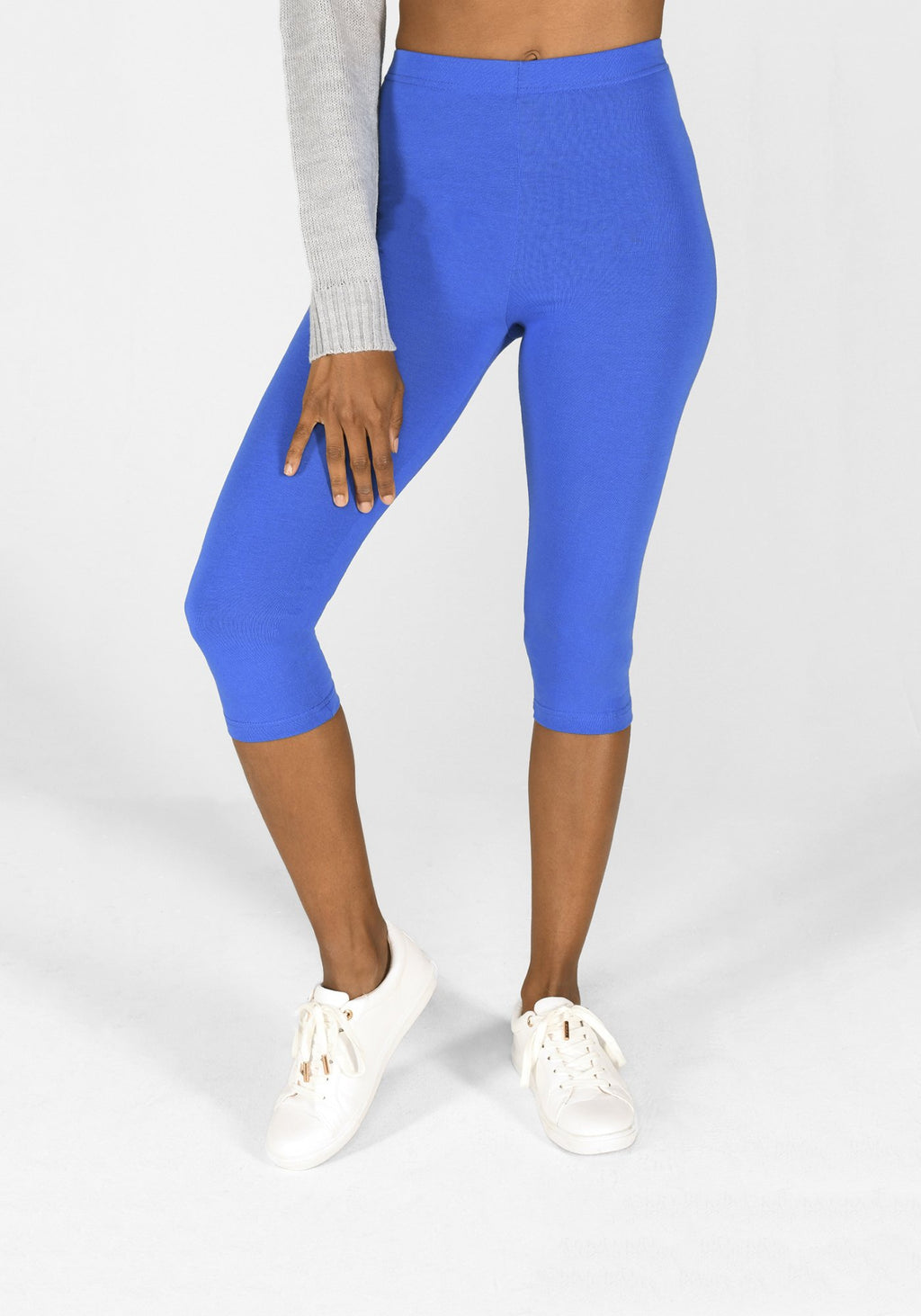 true blue cropped leggings 1