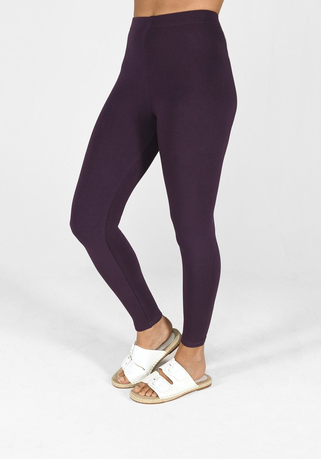acai purple classic leggings 1