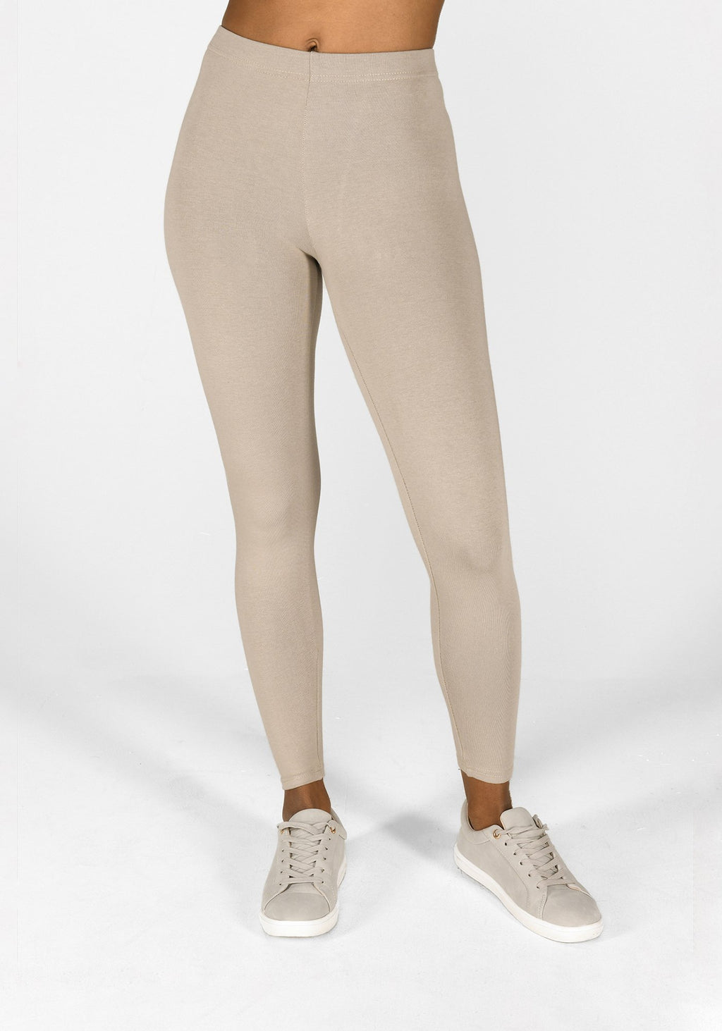 oatmeal beige leggings 1