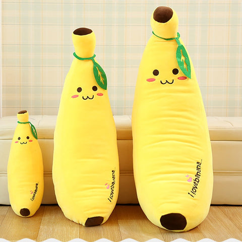 Giant Yellow Banana pillow