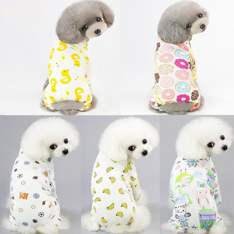 Funny jumpsuit pijamas for pet