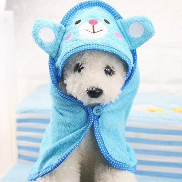 Funny pet bathrobe