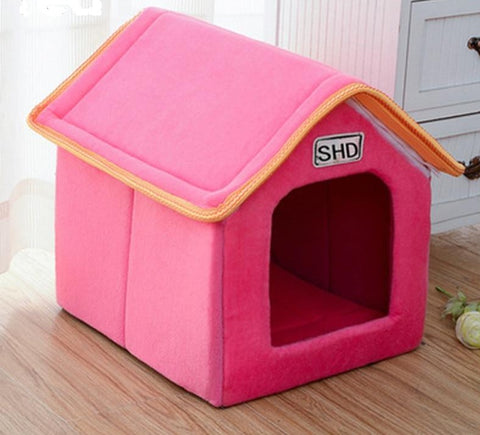 Pink stylish house for pets