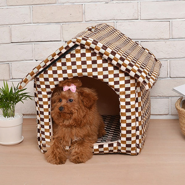 Royal foldable house for pet