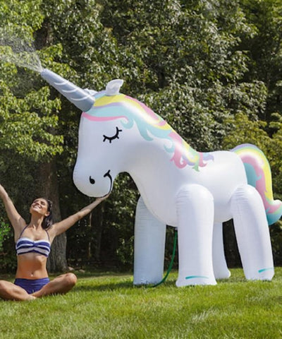 NEW Giant unicorn water fountain