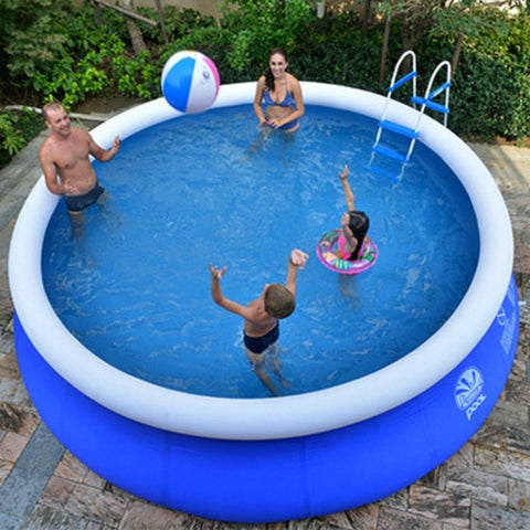 Small to large inflatable garden pools