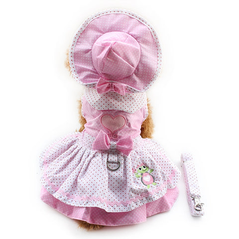 Pink & pois perfect pet outfit