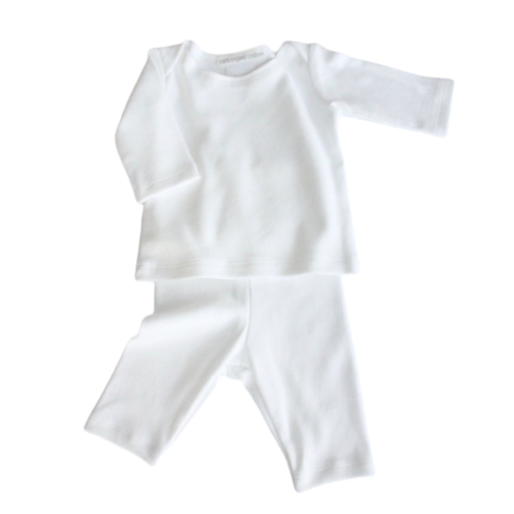 Organic Cotton - Baby Vest & Leggings Set (0-3M & 3-6M) - SEEDS OF KINDNESS