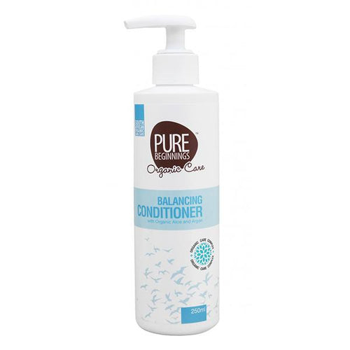 Pure Beginnings - Balancing Conditioner With Organic Aloe And Argan (250ml) - SEEDS OF KINDNESS