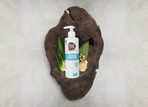 Pure Beginnings - Balancing Shampoo With Organic Aloe And Argan (250ml) - SEEDS OF KINDNESS