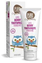 Load image into Gallery viewer, Pure Beginnings - Berry Toothpaste With Xylitol, Fluoride Free (75ml) - SEEDS OF KINDNESS