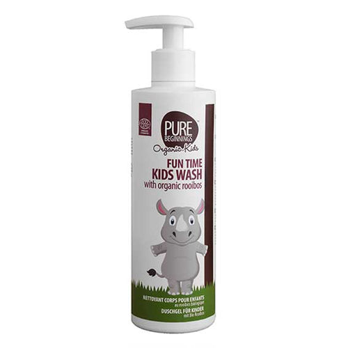 Pure Beginnings - Fun Time Kids Wash With Organic Rooibos (250ml) - SEEDS OF KINDNESS