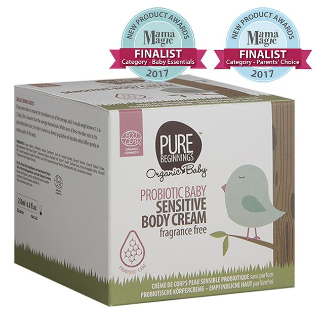 Pure Beginnings - Probiotic Baby Sensitive Body Cream, Fragrance Free (250ml) - SEEDS OF KINDNESS