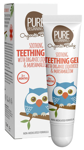 Pure Beginnings - Soothing Teething Gel With Organic Liquorice & Marshmallow (15ml) - SEEDS OF KINDNESS